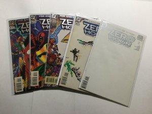 Zero Hour 0 1-4 1 2 3 4 Color Faded Lot Run Set Very Fine Vf 8.0 Marvel