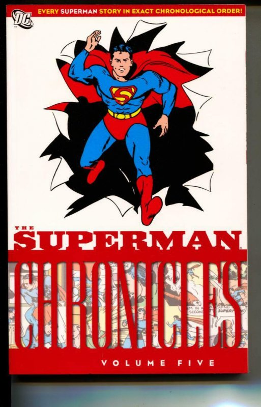 Superman Chronicles Volume 5 TPB trade