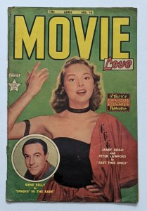 Movie Love #14 (Apr 1952, Eastern Color) G/VG 3.0 Janet Leigh Gene Kelly photo