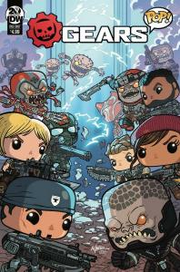 GEARS OF WAR POP ONE-SHOT (2019 IDW) #1 PRESALE-07/24