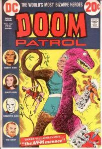 DOOM PATROL 122 VF-NM REPRINTS  Feb. 1973 COMICS BOOK
