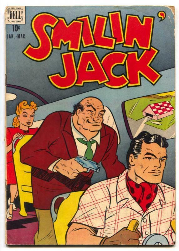 Smilin' Jack #5 1948- Dell Golden Age comic VG