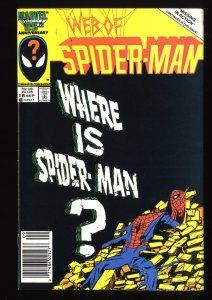 Web of Spider-Man #18 VF 8.0 Eddie Brock Cameo!