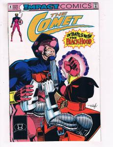 The Comet #4 VF Impact Comics Comic Book 1991 DE22