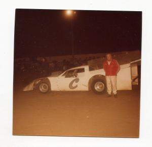 Will Cagle-Color Photo-East Bay Speedway-#C-1983-VG