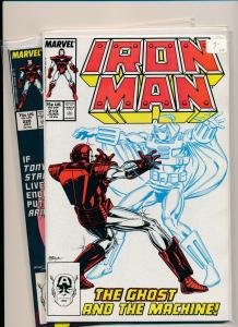 MARVEL SET of 2- IRON MAN #219-220 1st & 2nd GHOST appearance 1979  VF+(PF712)