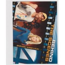 2005 Upper Deck Fantastic Four Movie THE INVISIBLE WOMAN'S PLACE... #98