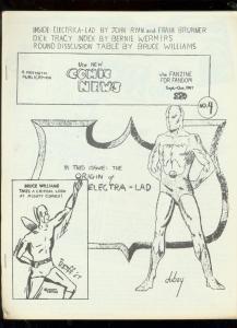 NEW COMIC NEWS FANZINE #4-1967-BRUNNER-DICK TRACY-DYROF FN
