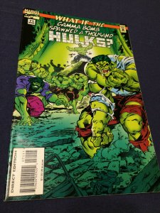 What If? #71 What If the Gamma Bomb Spawned a Thousand Hulks? Marvel VF+ (1995)