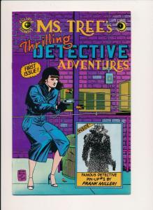 Eclipse Comics MS. TREE #1 Frank Miller ~ F/VF 1983 (HX745)