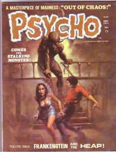 Psycho Magazine #4 (Sep-71) VF- High-Grade