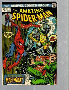Amazing Spider-Man # 124 VF- Marvel Comic Book MJ Vulture Goblin Scorpion TJ1
