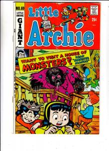 Little Archie #69 (Nov-71) FN Mid-Grade Little Archie, Little Veronica, Littl...