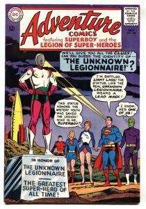 ADVENTURE COMICS #334 comic book-SUPERBOY-Legion  VF-