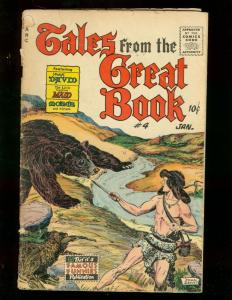 TALES FROM THE GREAT BOOK #4 1956 FAMOUS FUNNIES MOSES G/VG