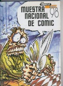 Murcia Joven 1998, revista con los trabajos premiados por el jurado