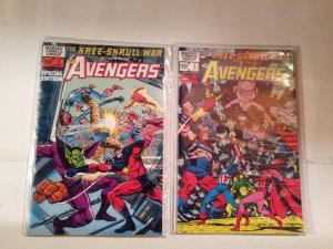 Kree-Skrull War Staring The Avengers 1-2 Near Mint Lot Set Run