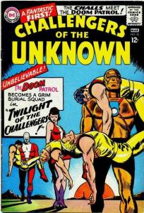 Challengers of the Unknown (1958 series) #48, Fine (Stock photo)