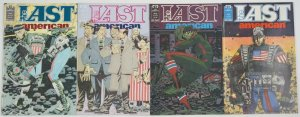 the Last American #1-4 FN/VF complete series ALAN GRANT & JOHN WAGNER political