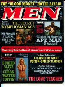 MEN-5/1970-Pussycat-Nymphomaniacs-Ape Men-Sex-Adventure
