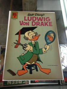 Ludwig Von Drake 1  VG/VG+  (Nov. 1961)
