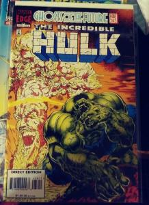 incredible hulk  # 438 1996  MARVEL ,ghosts of the future  pt 3 -leader+