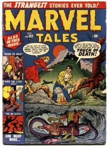 MARVEL TALES #103-ross andru art-pch horror atlas--1951