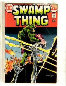 Swamp Thing # 3 VG- DC Comic Book SIGNED By BERNI Wrightston Horror Fear JH6