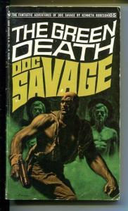 DOC SAVAGE-THE GREEN DEATH-#65-ROBESON-VG-JAMES BAMA COVER VG