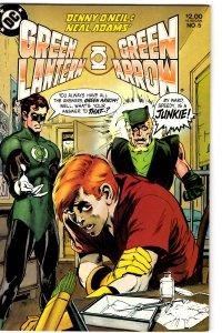 Green Lantern/Green Arrow #5 (1983) Dennis O'Neil Neal Adams NM-