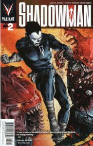 Shadowman (4th Series) #2 VF/NM; Valiant | save on shipping - details inside