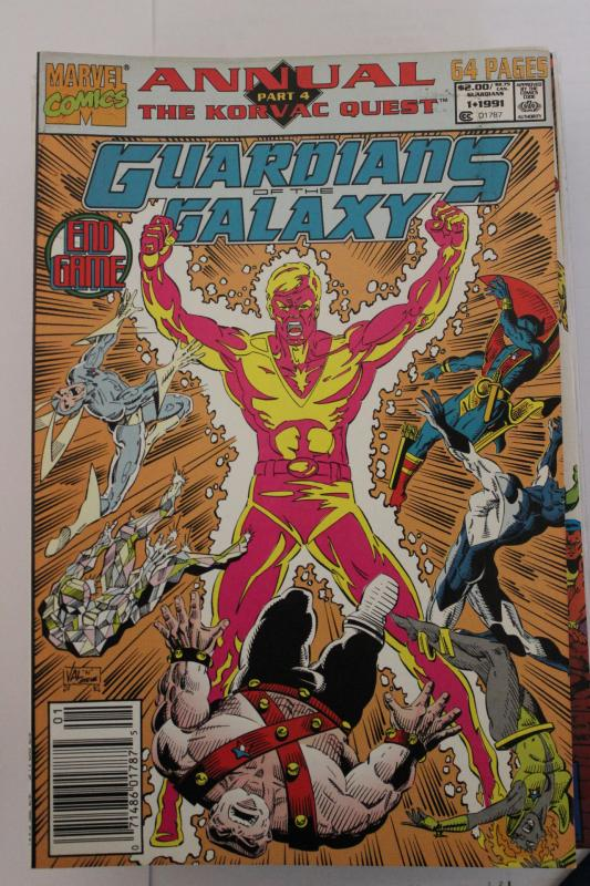 Guardian of the Galaxy Annual 1 NM