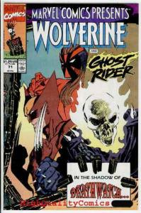 MARVEL COMICS PRESENTS #71, NM+, Wolverine, Ghost Rider, more Marvel in store