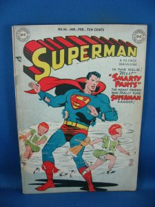 SUPERMAN 56 F- 1949