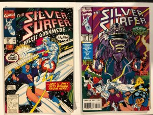 Silver Surfer #81 & #82 - 1st Cameo and Full Appearance of Tyrant