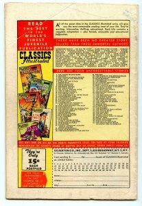Classics Illustrated 92 (Original) Feb 1952 VG (4.0)