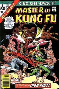 Master of Kung Fu (1974 series) Annual #1, VF- (Stock photo)