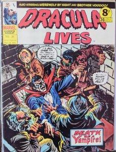 DRACULA LIVES #31! RARE!!!!