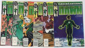 Green Lantern Emerald Dawn Entire Run 1, 2, 3, 4, 5, 6 saga of Hal Jordan