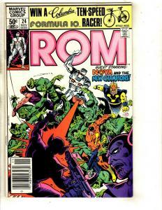 10 Marvel Comics Rom 24 56 Guardians of the Galaxy 4 7 8 9 17 15 Annual 1 + CJ17