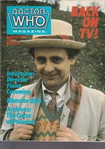 Doctor Who Magazine No. 129 October 1987