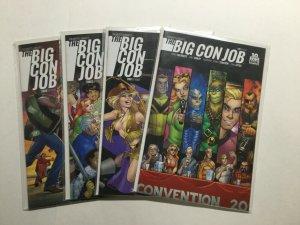 Big Con Job 1-4 1 2 3 4 Lot Run Set Near Mint Nm Boom Studios