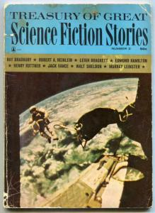 Treasury of Great Science Fiction Stories Pulp #2 1965