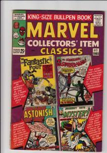Marvel Collectors' Item #1 (Jan-65) FN/VF+ High-Grade Fantastic Four, Mr. Fan...