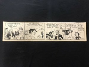 Fred Fox Original Daily Comic Strip Art #9 1936- unpublished?