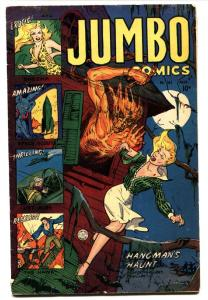 JUMBO #162-SHEENA-HORROR-HANGING-GGA-1954 FICTION HOUSE-SCI-FI