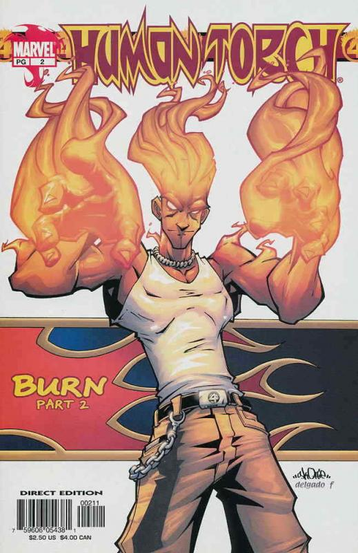Human Torch (3rd Series) #2 VF/NM; Marvel | save on shipping - details inside