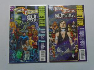 Teen Titans Outsiders Secret Files, Set:#2003+2005, 8.0/VF (2003+2005)