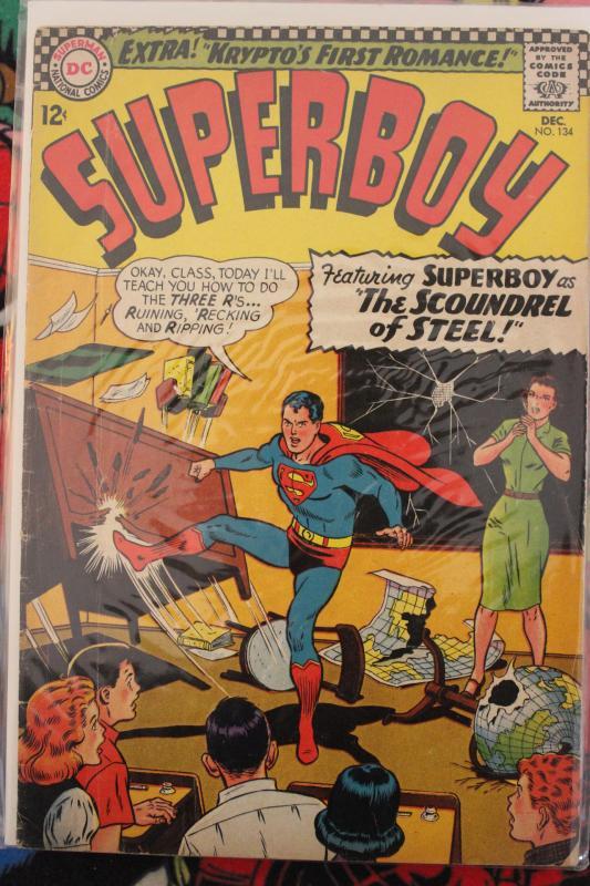Superboy 134 VG