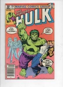 HULK #264, FN/VF, Incredible, Bruce Banner, Buscema, 1968 1981, Marvel